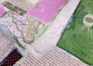 Pinkgreenbrownbackground