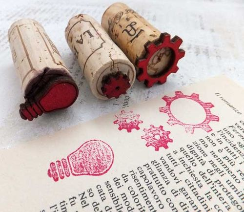 ARTchixWineCorkStamps