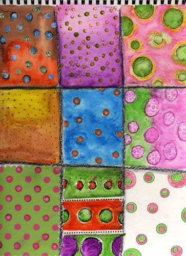 Weekly Art Challenge: Dots & Circles (July 16, 2008)
