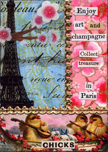 Weekly Art Challenge: Celebrate Paris! (March 25, 2009)