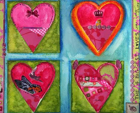 Weekly Art Challenge: Play with your Scraps! (Jan 21, 2009)