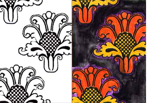 Weekly Art Challenge: Coloring Book Fun! (Sept 3 - 10, 2008)