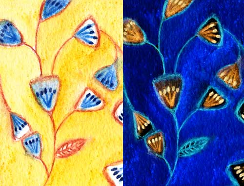 Weekly Art Challenge: Find pattern in your life! - Drawing (July 30, 2008)